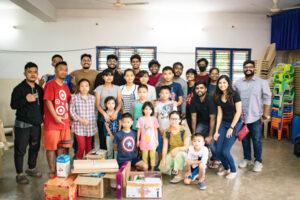Little More Love volunteers volunteering in bangalore
